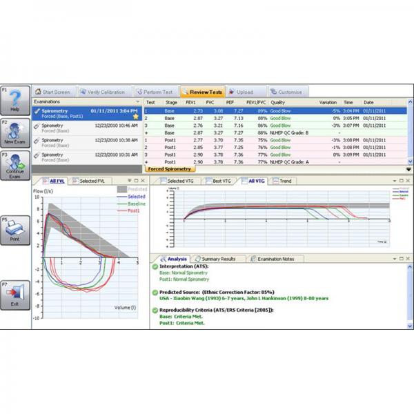 SPC1000 - Spirometry PC Software